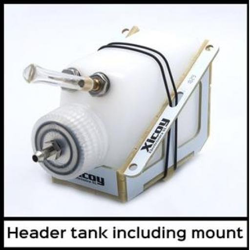 Header Tank with Mount