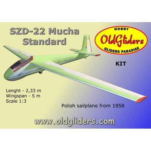 SZD-22 Mucha Standard 1:3 Kit