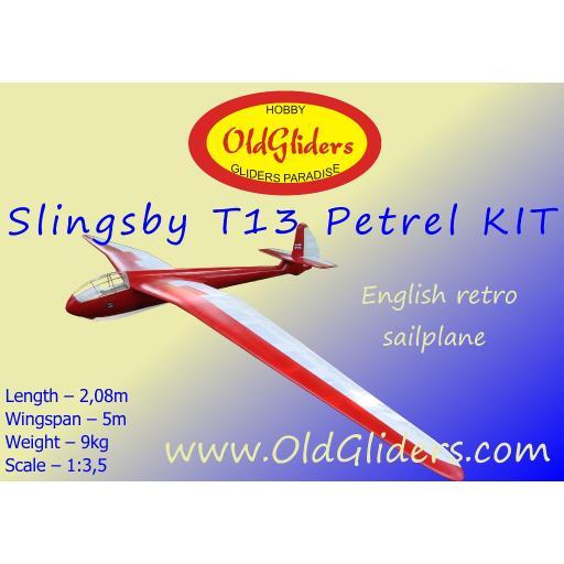 Slingsby T13 Petrel 1:3.5 Kit