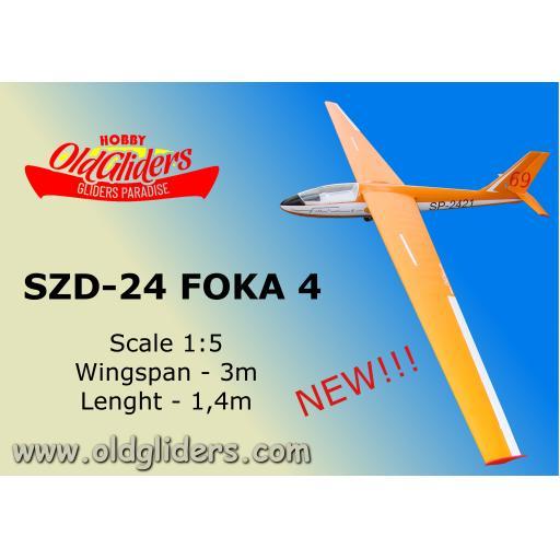 SZD-24 Foka 1:5 Kit