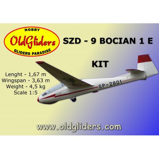SZD-9 Bocian 1e 1:5 Kit