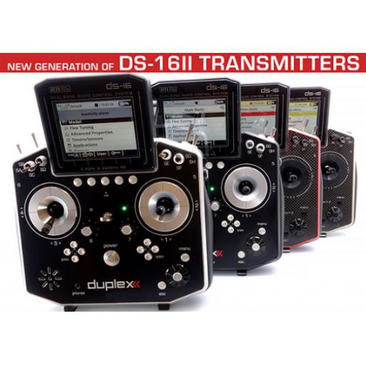 Jeti Duplex Radio System DS-16 MK-2 Carbonline Multimode **NOW AVAILABLE**