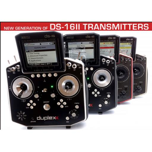Jeti Duplex Radio System DS-16 MK-2 Multimode ** AVAILABLE NOW!**